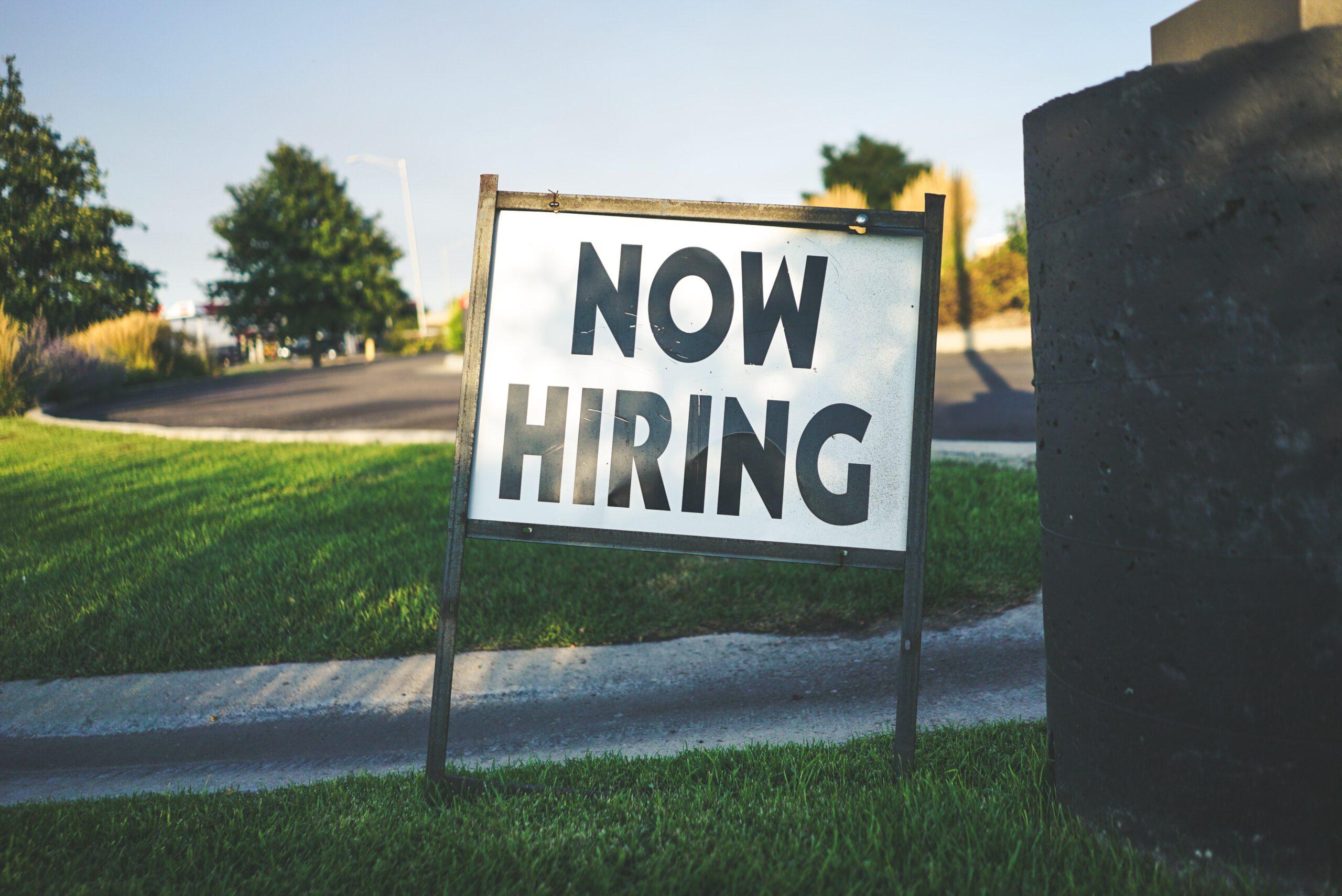 How hiring Sign